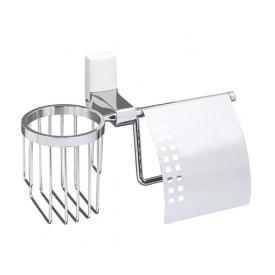 K-5059WHITE Держатель туалетной бумаги и освежителя WasserKRAFT