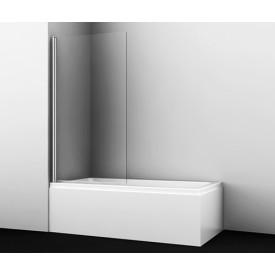 48P01-80 Стеклянная шторка на ванну WasserKRAFT