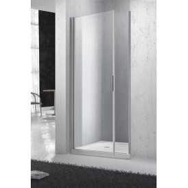 Дверь для душа прозрачная BelBagno SELA-B-1-90-C-Cr