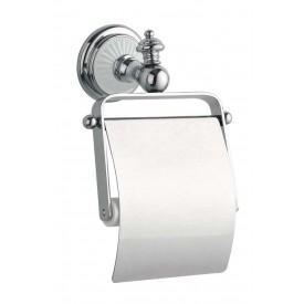 Держатель для туалетной бумаги с крышкой Boheme Vogue 10131