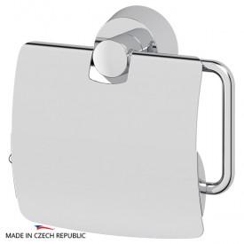 Держатель туалетной бумаги с крышкой (хром) FBS VIZ 055
