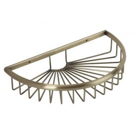 BASKET Решетка полукруглая 27х16хh5 см., бронза