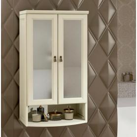Шкаф Клио подвесной 2 створчатый, с матовым стеклом Opadiris Z0000003992