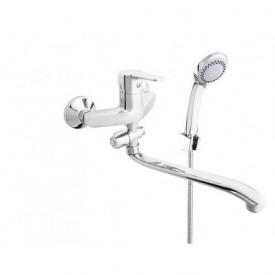 Смеситель в ванную настенный Uno-12/G Rubineta N2GD01